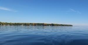 Lake Simcoe. September 28, 2014.